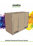 Modular Fitting and Dressing Rooms by Madix, Inc.