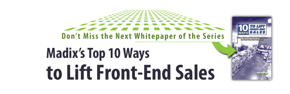 Read how to improve front-end sales now.