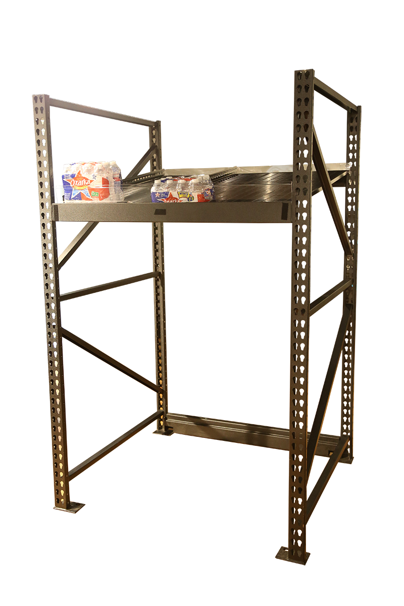 @Front Roller Shelf System - Heavy-Duty Applications