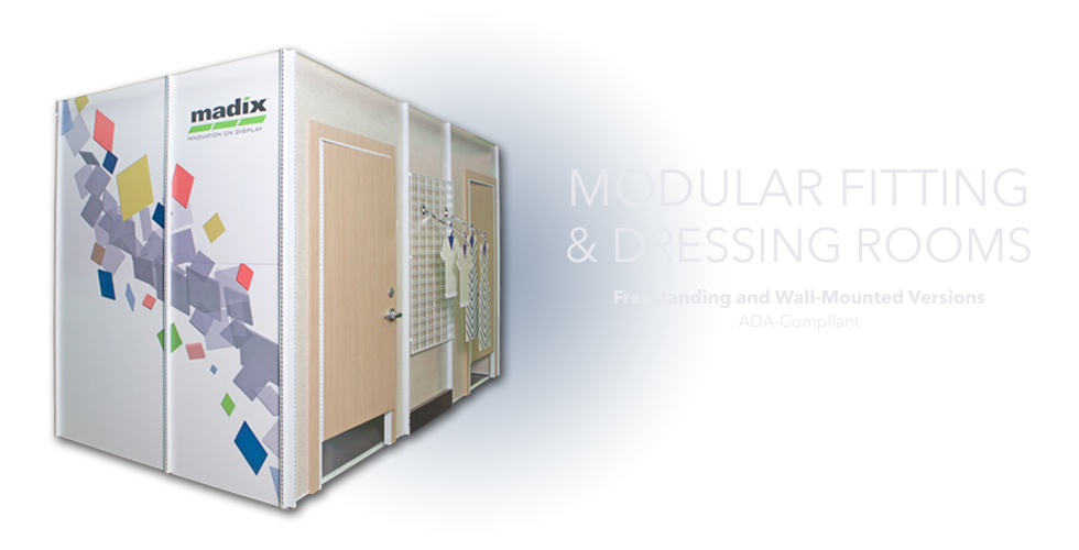 Madix Modular Fitting and Dressing Rooms
