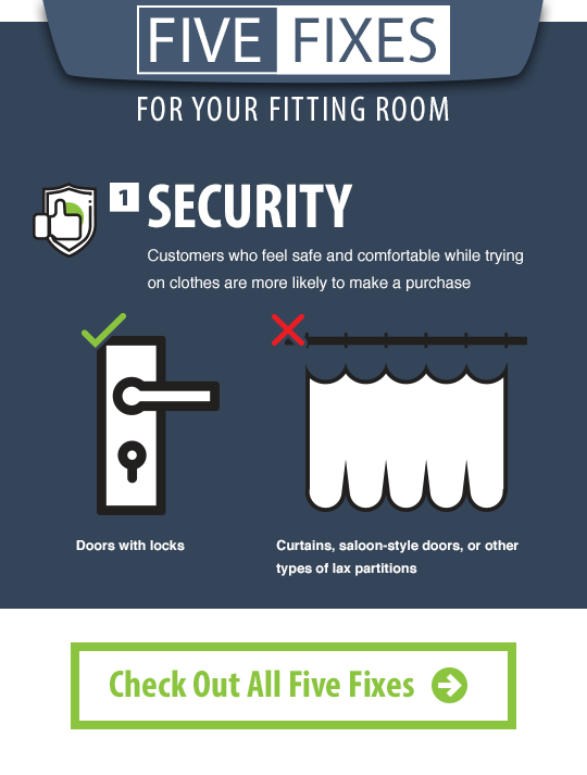 Fixe Fixes for Your Fitting Room