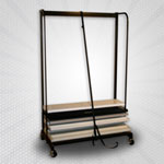 Folding Shelf Carriage