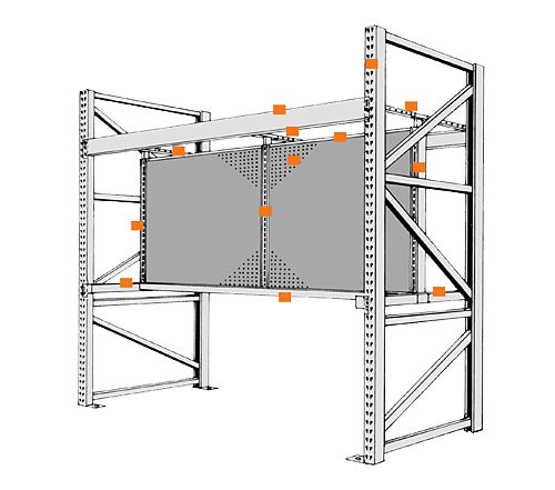 Pallet Rack Components and Accessories