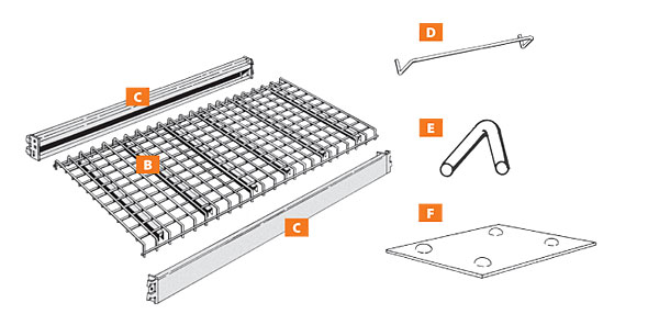 Battery Rack Components