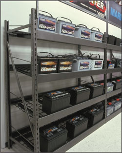 Wide Span Battery Rack