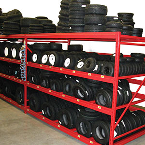 Wide Span Tire Display