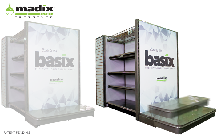 Basix - The Expandable Base Shelf
