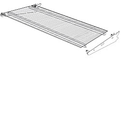 LSSGA(NW)(ND)-(OPT)-Lumishelf™ Acrylic LED Shelf Assembly