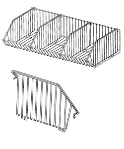 DV02(ND)(NH)-Open End Basket Divider