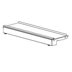 Pharmacy Rolling Frame Base Deck