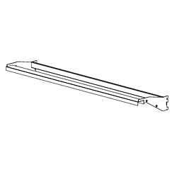 Pharmacy Rolling Frame Top Channel