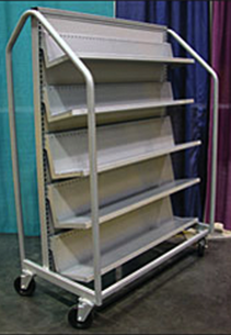 Roll-Around Book Cart