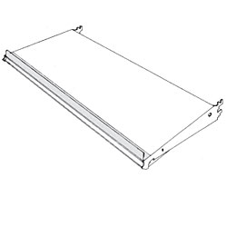 SR-(NW)-(NH)-10-Shelf Retainer