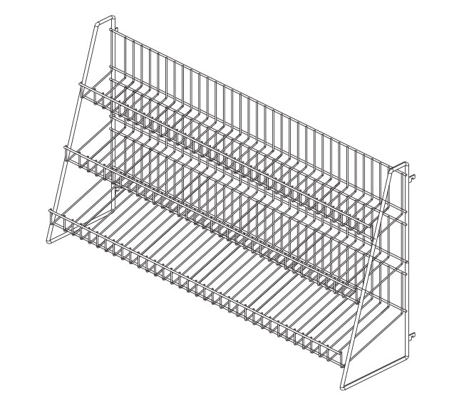 WCANR-(NW)-Wire Candy Rack