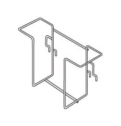 WBH-(NL)-WG-Wire Grid Brochure Holder